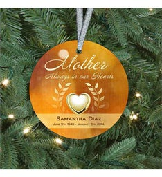 Mothers Heart of Gold Ornament