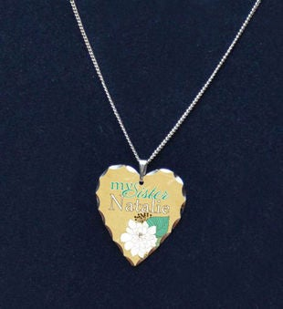 Beautiful Sister Memorial Necklace