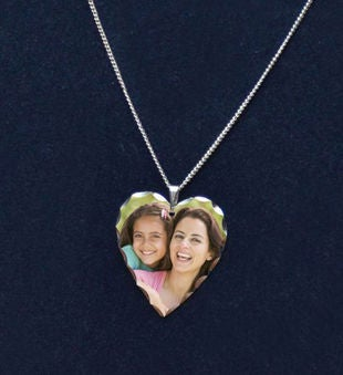 Heart Photo Pendant