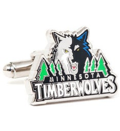 Minnesota Timberwolves Cufflinks