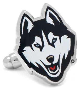 University of Connecticut Huskies Cufflinks