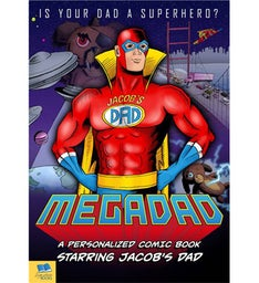 Mega Dad Comic Book Hardback