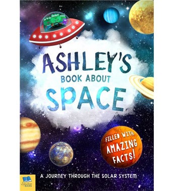 Personalized Space Storybook