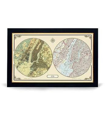 New York City Duo Maps