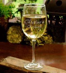 Personalized Connoisseur Wine Glass