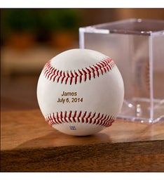 Personalized Baseball in Cube