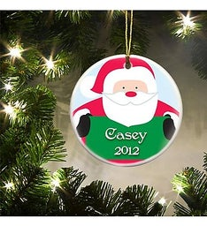 Personalized St Nick Christmas Ornament