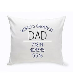 World's Greatest Throw Pillow