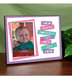 HAPPY MOTHERS DAY PRINTED FRAME