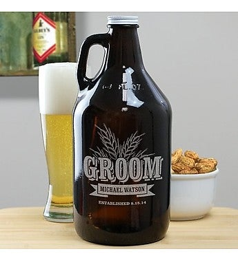 ENGRAVED WHEAT GROWLER