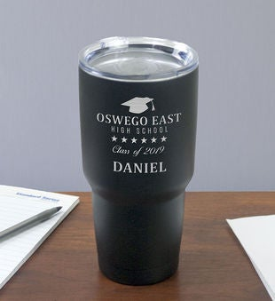 Engraved Graduation Tumbler