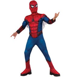 SpiderMan Deluxe Muscle Childrens Costume