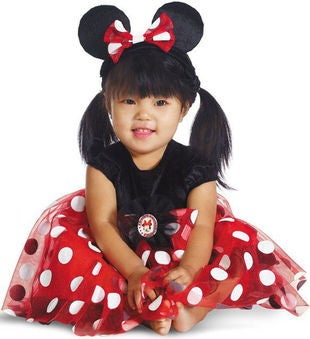 Disney's Red Minnie Costume for Babies