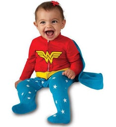 Infant Wonder Woman Jumper Costume for Toddlers