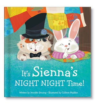 It's My NIGHT NIGHT Time! Personalized Storybook