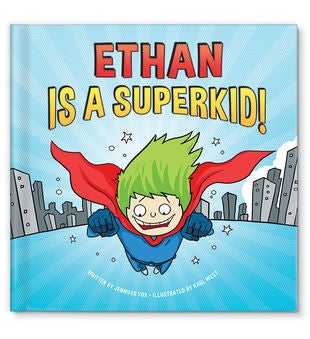 I'm a Super Kid! Personalized Storybook
