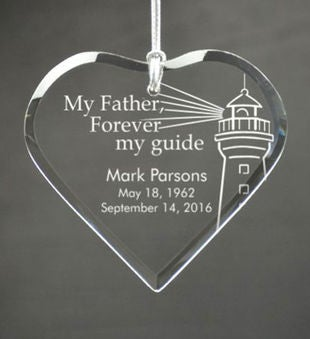 Personalized My Father My Guide Ornament