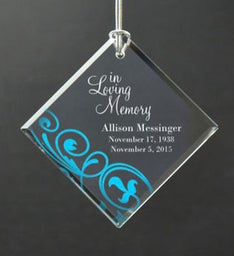 Personalized In Memory of Ornament