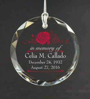 Personalized Loss of a Loved One Ornament