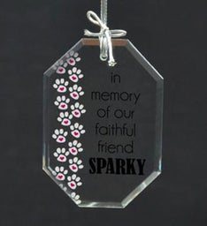 Personalized Memory of Faithful Friend Ornament