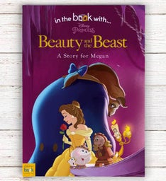 Personalized  Beauty  the Beast Storybook