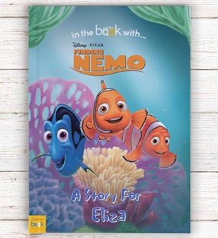 Personalized Finding Nemo Storybook