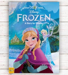 Personalized Frozen Storybook