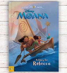 Personalized Moana Storybook