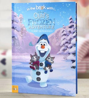 Personalized Olaf's Frozen Adventure Storybook