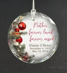 Personalized Loved Mother Ornament
