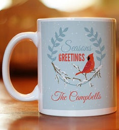 Personalized Seasons Greetings Coffee Mug