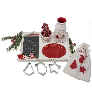 Personalized Santa's Cookie Platter