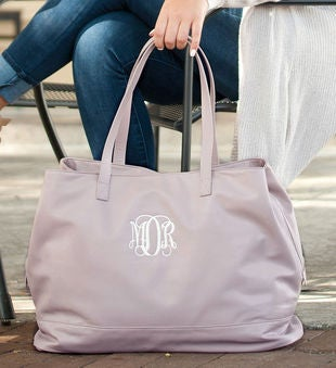 Personalized Blush Cambridge Travel Bag