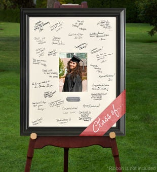 Personalized Signature Frame With Plate