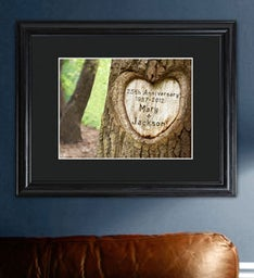 Personalized Tree Carving Sign