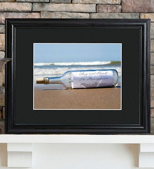 Personalized Message In A Bottle Sign
