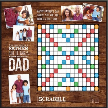 Dad Quote Custom Scrabble Game