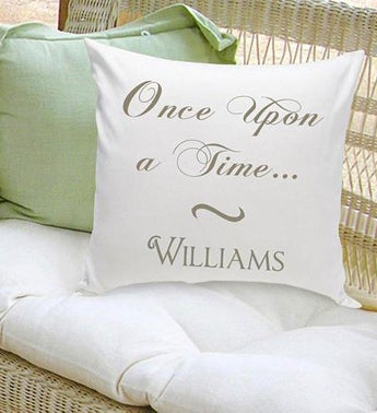 Personalized Couples Throw Pillows