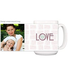 Personalized LOVE Magic Mug