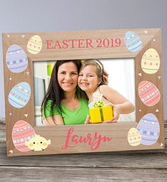 Personalized Easter Wooden Picture Frame