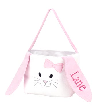 Personalized Hippity Hoppity Pink Bucket