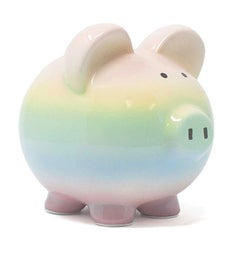 Personalized Ombre Piggy Bank