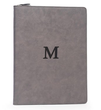 Personalized Multi Compartment Padfolio