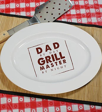Personalized Grill Master Platter