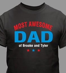 Personalized Most Awesome T-Shirt