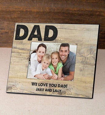 Personalized Classic Dad Picture Frame
