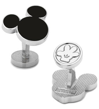 Mickey Mouse Silhouette Cufflinks