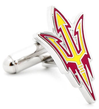Arizona State Sun Devils Pitchfork Cufflinks