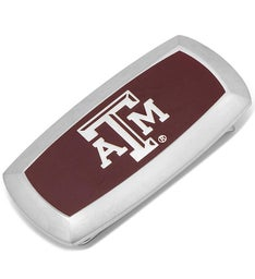 Texas AM Aggies Cushion Money Clip