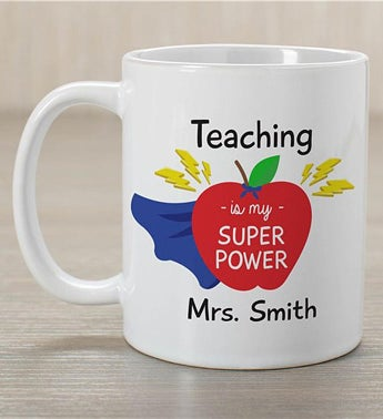 Personalized Teaching Is My Super Power Mug